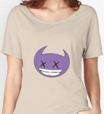 mini devil purple Women's Relaxed Fit T-Shirt