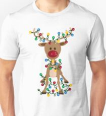 Adorable Reindeer Unisex T-Shirt