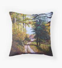 Autumn Heights Throw Pillow