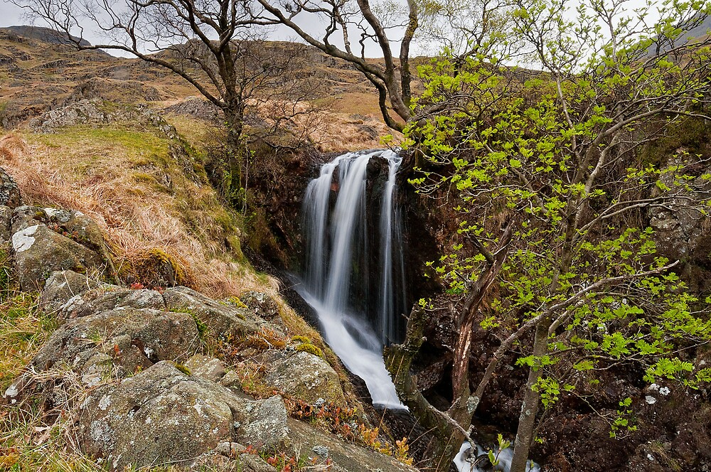 waterfall at haweswater by paul mcgreevy