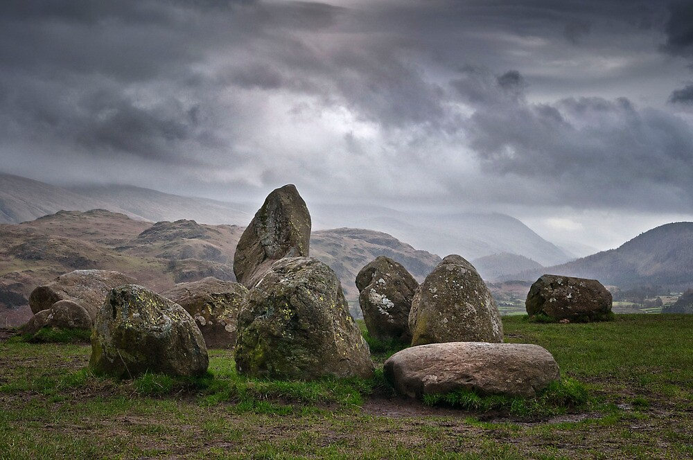 castlerigg stone circle by paul mcgreevy