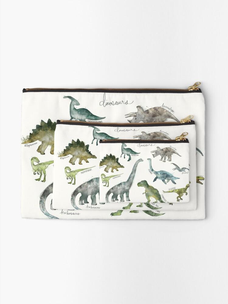 Alternate view of Dinosaurs Zipper Pouch