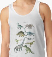Camiseta de tirantes Dinosaurios