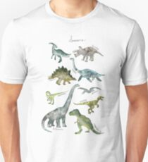Dinosaurier Slim Fit T-Shirt