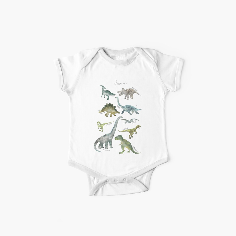 Dinosaurs Baby One-Pieces