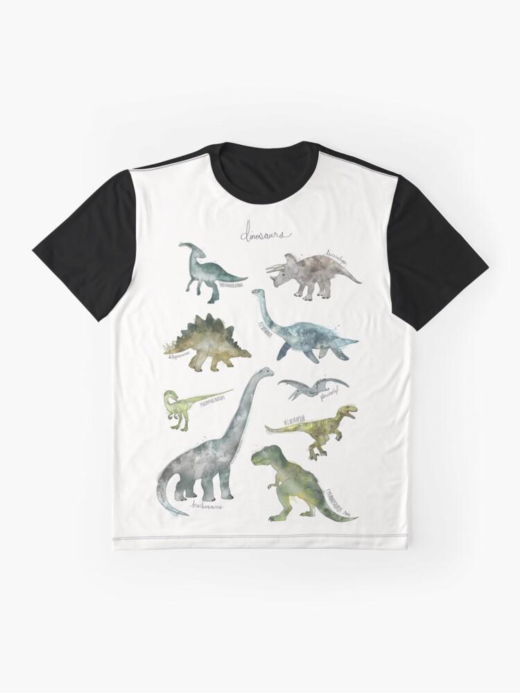Vista alternativa de Camiseta gráfica Dinosaurios