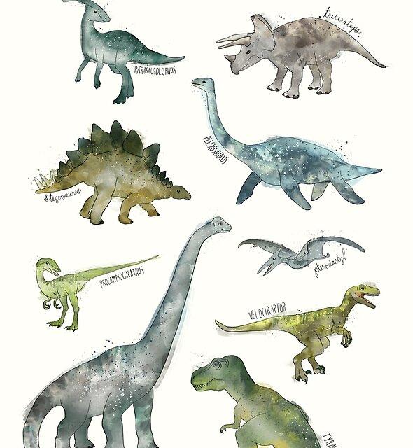 Dinosaurs by Amy Hamilton