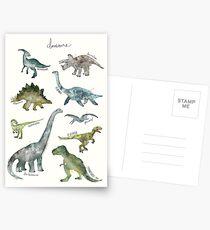 Dinosaurier Postkarten