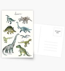 Dinosaurs Postcards