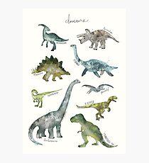 Dinosaurier Fotodruck