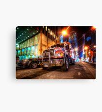 Mack Truck NYC Canvas Print