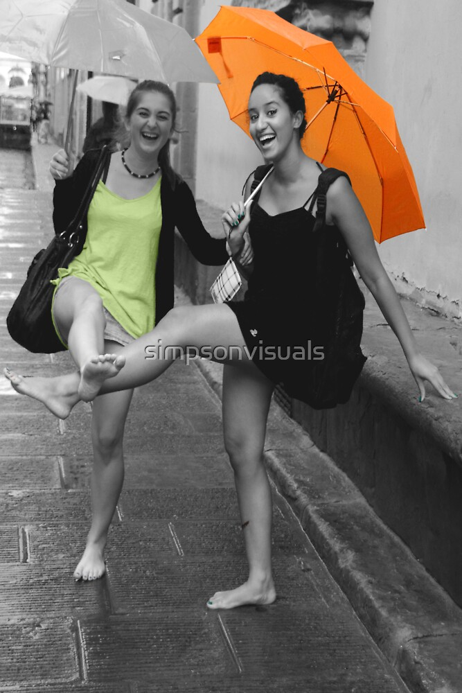 Dancing in the Rain by simpsonvisuals