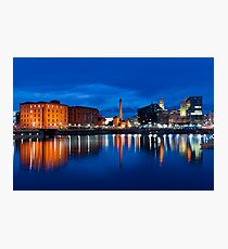 salthouse dock, liverpool Photographic Print