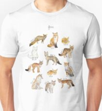 Renards T-shirt unisexe