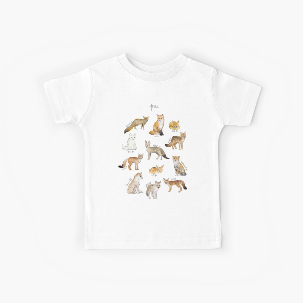 Foxes Kids T-Shirt