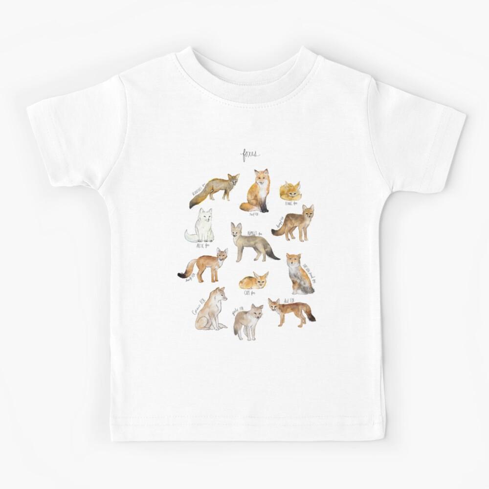 Foxes Kids T-Shirt