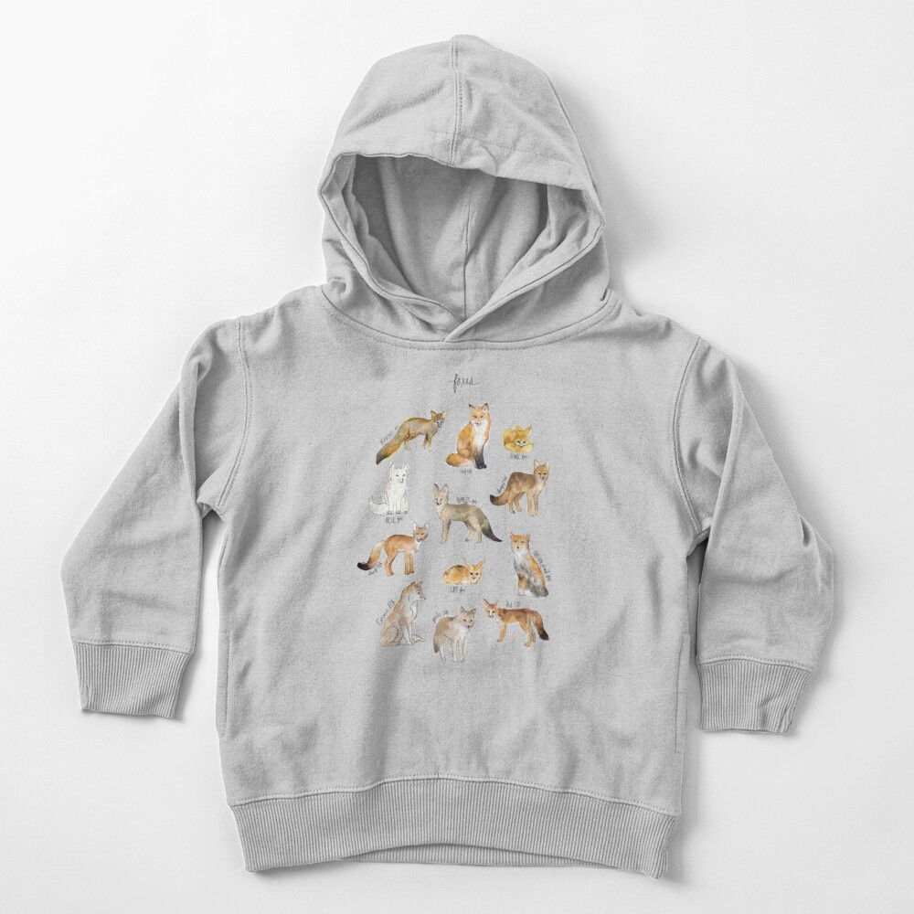 Foxes Toddler Pullover Hoodie