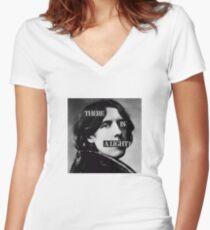 A Wild Light Women's Fitted V-Neck T-Shirt
