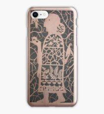 The Acorn Woman in Copper iPhone Case/Skin