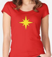 A Captain Regardless of Gender Women's Fitted Scoop T-Shirt
