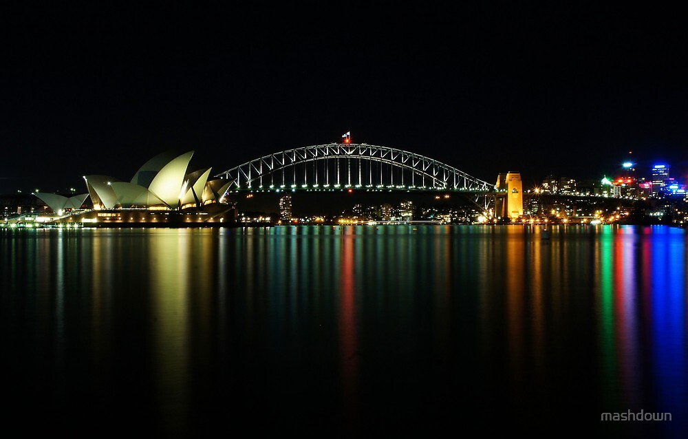 Sydney from Macquaries Point by mashdown