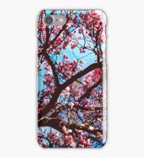 Pink MagnoliaTree iPhone Case/Skin
