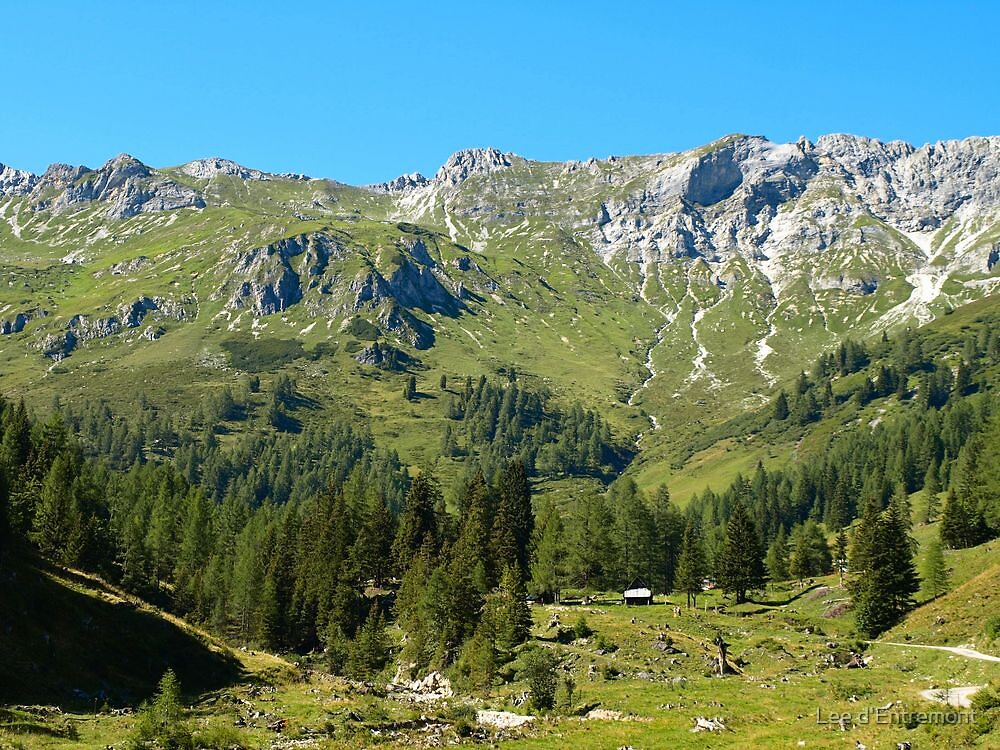 A Perfect dayin the Alps. by Lee d'Entremont