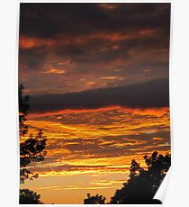 God's Evening Painting Poster