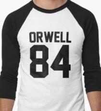 Orwell 84 Jersey - Black Men's Baseball ¾ T-Shirt
