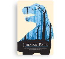 Jurassic Park alternative poster Canvas Print