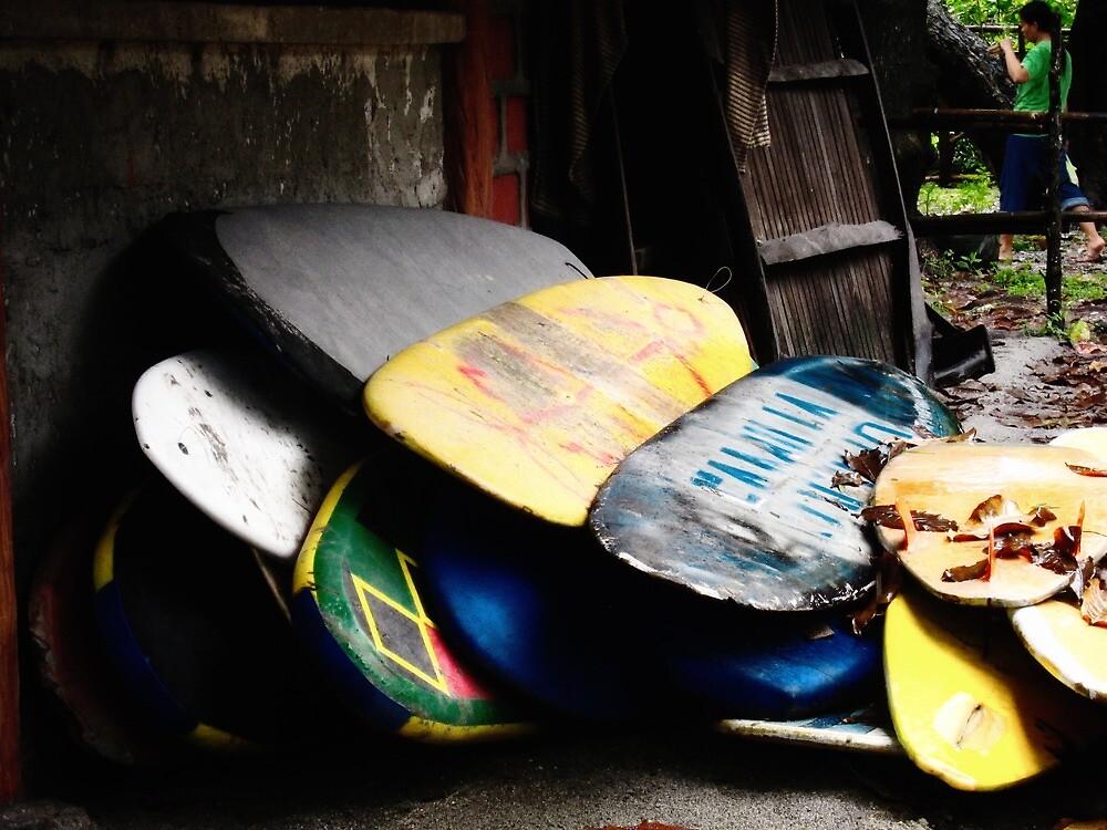 Board Stack by Kaan Calder