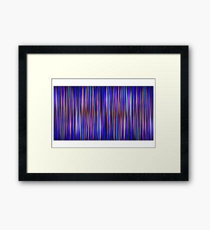 Aberration [Print and iPhone / iPad / iPod Case] Framed Print