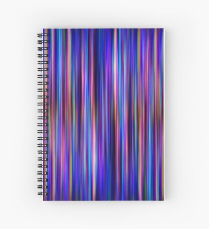 Aberration [Print and iPhone / iPad / iPod Case] Spiral Notebook