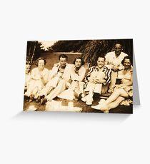 Tea 1929 Greeting Card