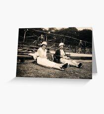 Cricket Legs 1929 Greeting Card