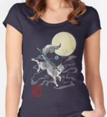 The Great Grey Wolf - Sifkami Women's Fitted Scoop T-Shirt