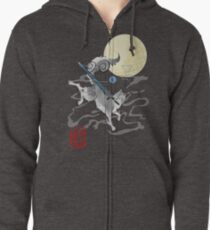 The Great Grey Wolf - Sifkami Zipped Hoodie