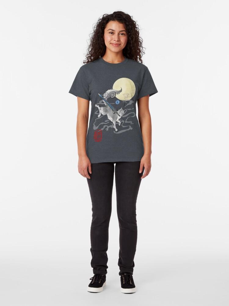 Alternative Ansicht von Der große graue Wolf - Sifkami Classic T-Shirt