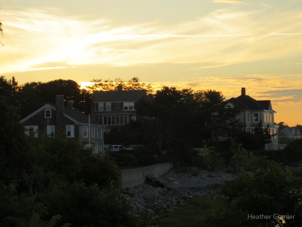 Sun Goes Down by Heather Grenier