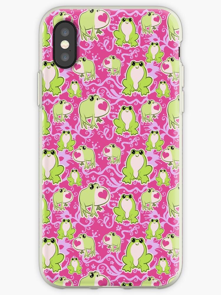 Love Frogs Pattern by SaradaBoru