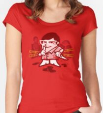 Mr Morgan's Laboratory ver 2 Women's Fitted Scoop T-Shirt