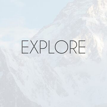 """""""Explore"""" Card by Ze-Chee"""