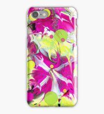 Pink Flower Explosion iPhone Case/Skin