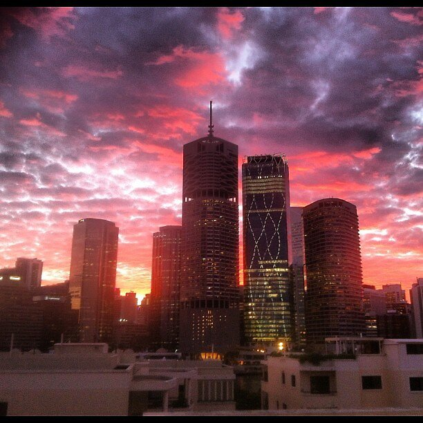 Sunset bliss brisbane by lisaw273