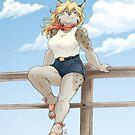 Donna on the Boardwalk by dmc-art