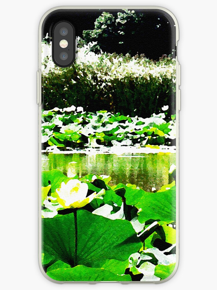 White Water Lotus Natural Color by Shawna Rowe