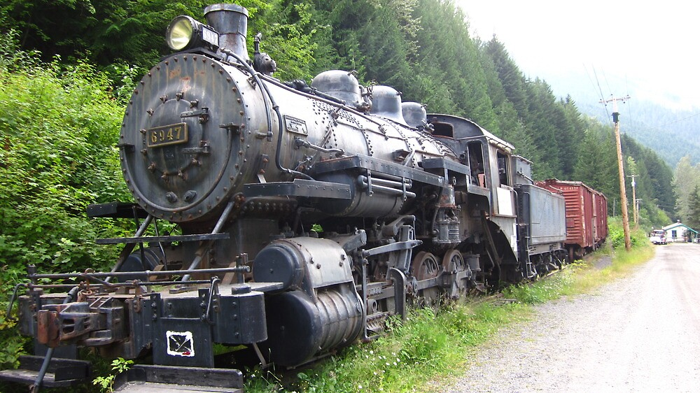 steam train by john best