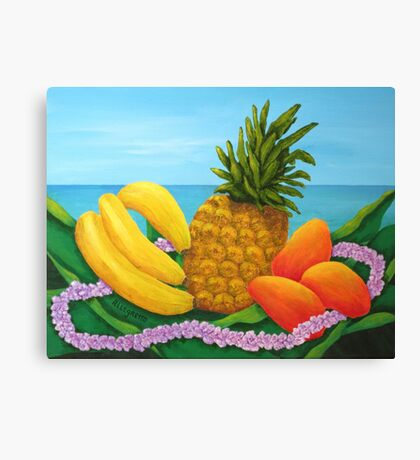 Tropical Trinity Canvas Print