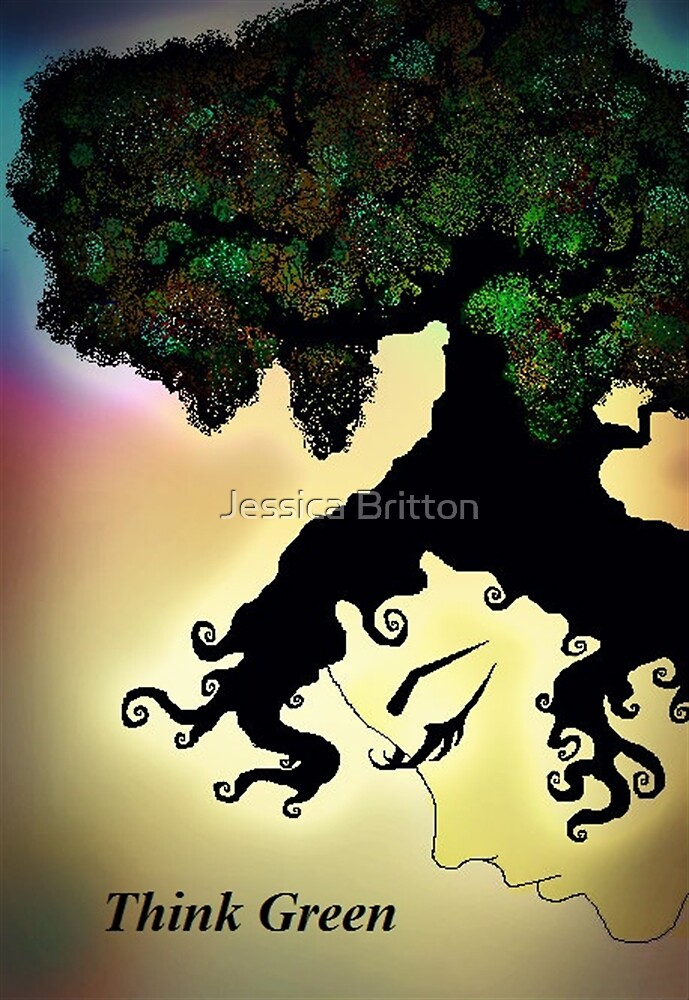 Think Green by Jessica Britton