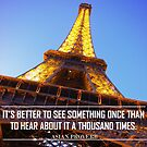 Inspirational Travel Quote by GuyWatson